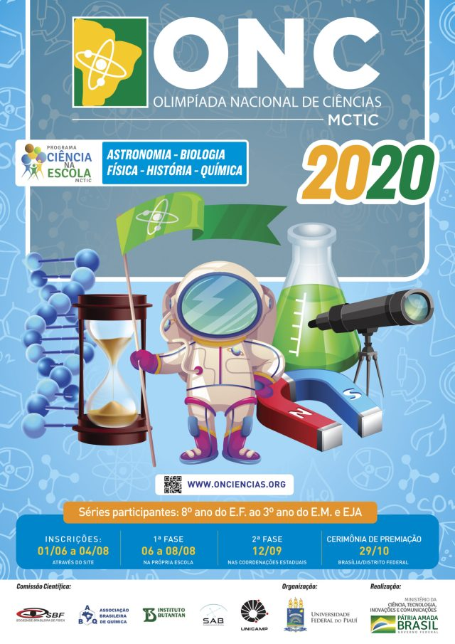 Olimpíada Nacional de Ciências 2020