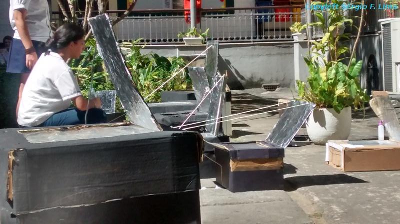 Projeto Forno Solar em 2014