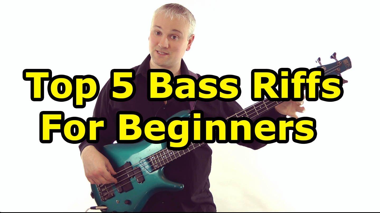 top 5 must know bass riffs for beginners l 90 aprender contrabaixo. Black Bedroom Furniture Sets. Home Design Ideas