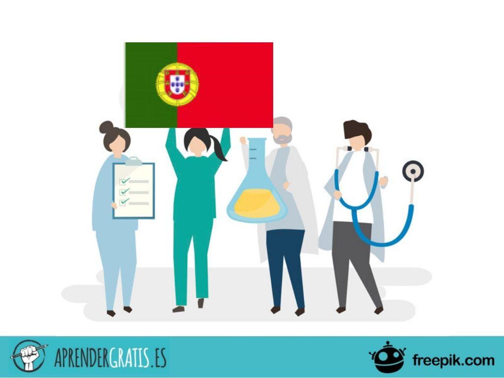 Aprender Gratis   Curso de portugués para el sector salud
