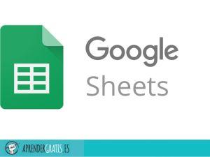 Aprender Gratis | Curso de Hojas de Cálculo de Google