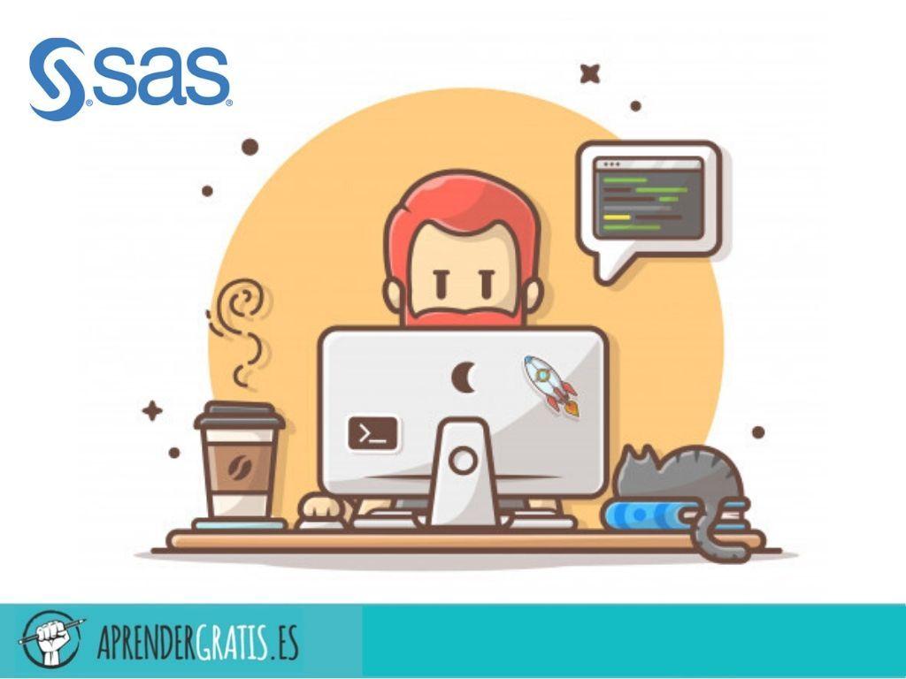 Aprender Gratis | Curso de programación avanzada con SAS