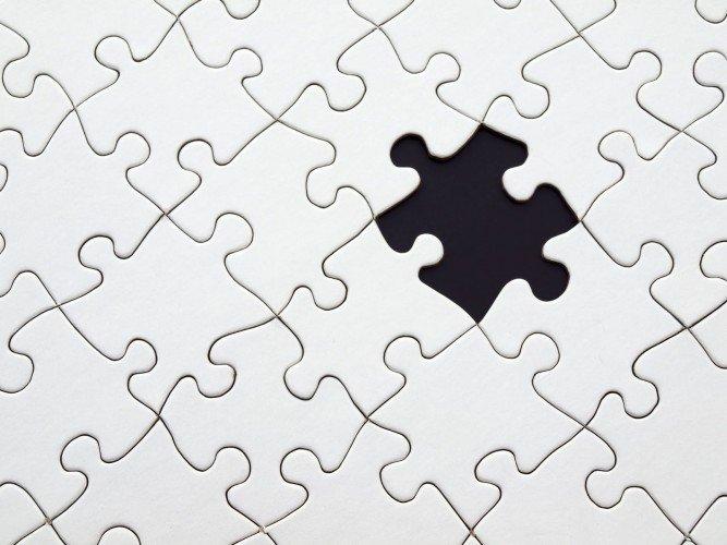 desafío en blanco y negro conectar