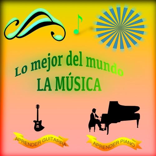 Lo mejor del mundo la música. Logo