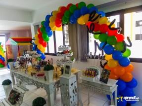 Arco de Balões - Detalhes