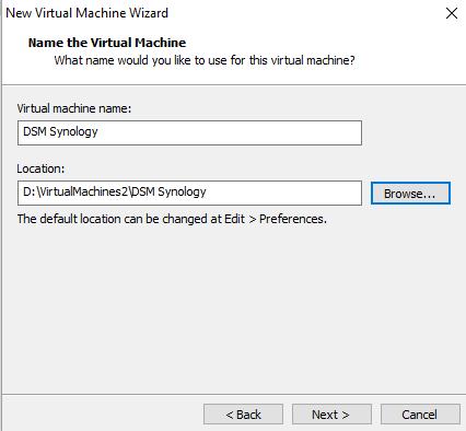 Instalación de XPEnology en VMware Workstation
