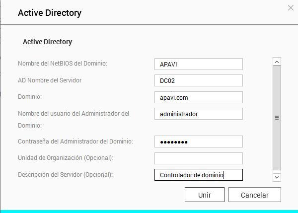 seguridad dominio qnap 3