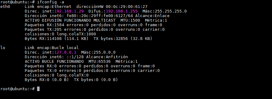 ifconfig-a