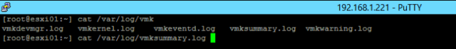 vmksummary.log ls