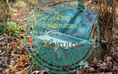 ISO 14001 Capítulos del 1 al 3