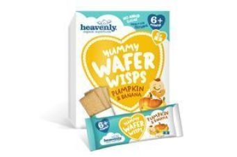 Yummy Wafer Wisps calabaza y platano