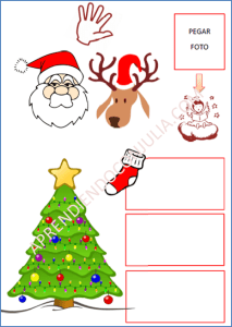 carta-santa-claus-pictograma