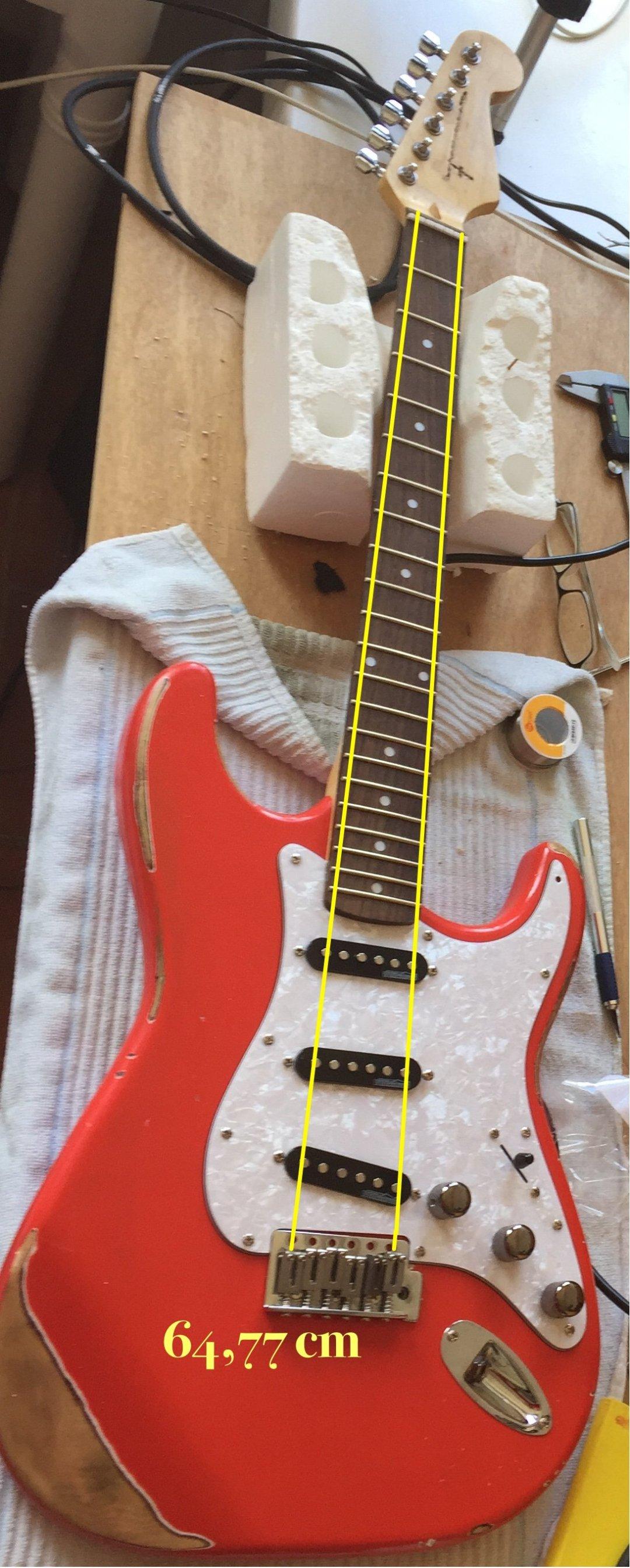 El mástil de la guitarra explicado. (Parte I) | Aprendiz de Luthier
