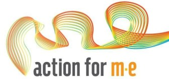Action for M.E.'s logo