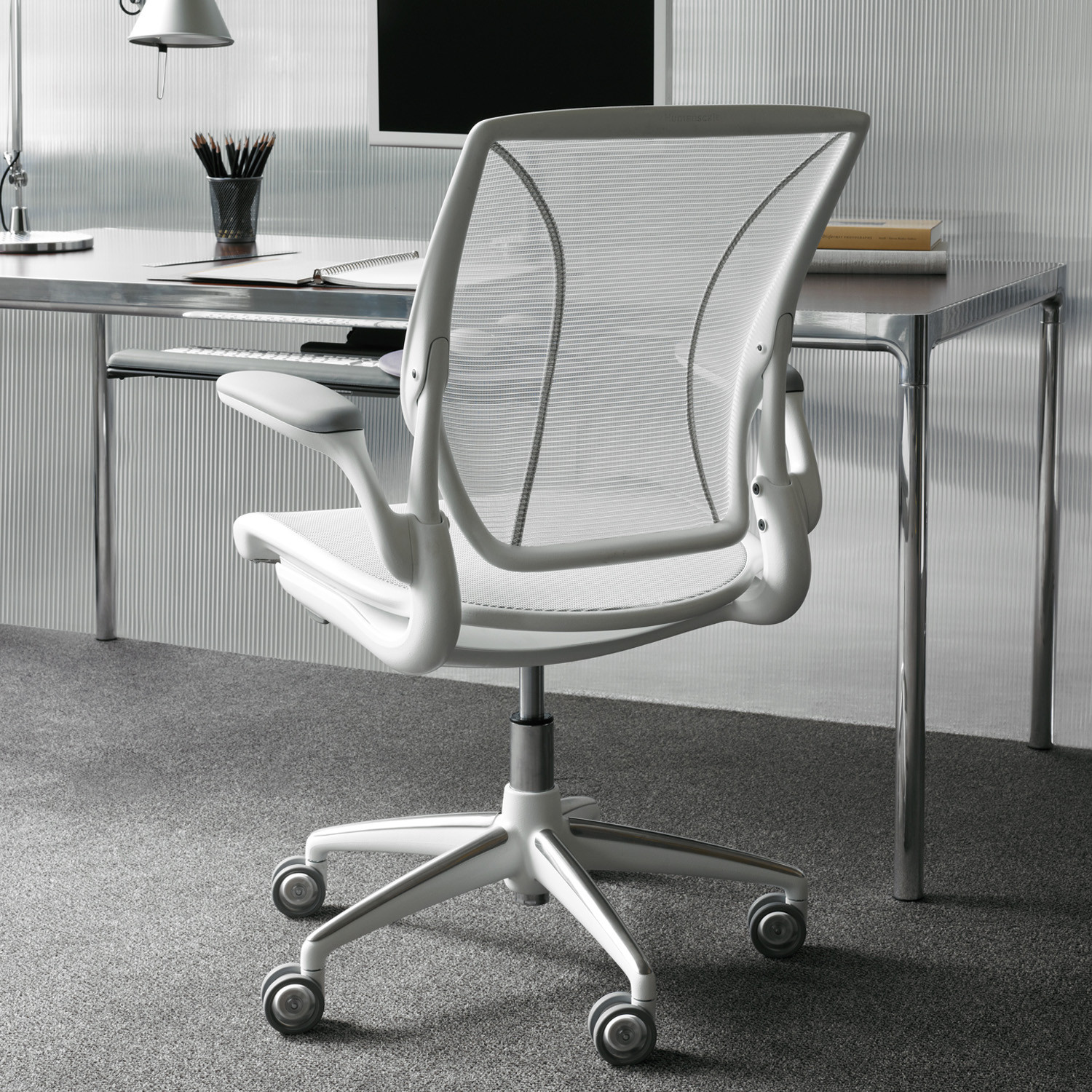 Humanscale Diffrient World Chair Diffrient World Task Chairs Humanscale Mesh Office