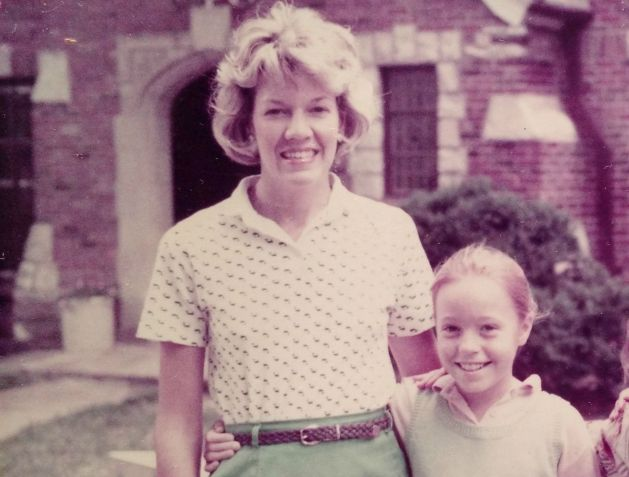 Stacey Delo and her mom Sherry circa 1985.