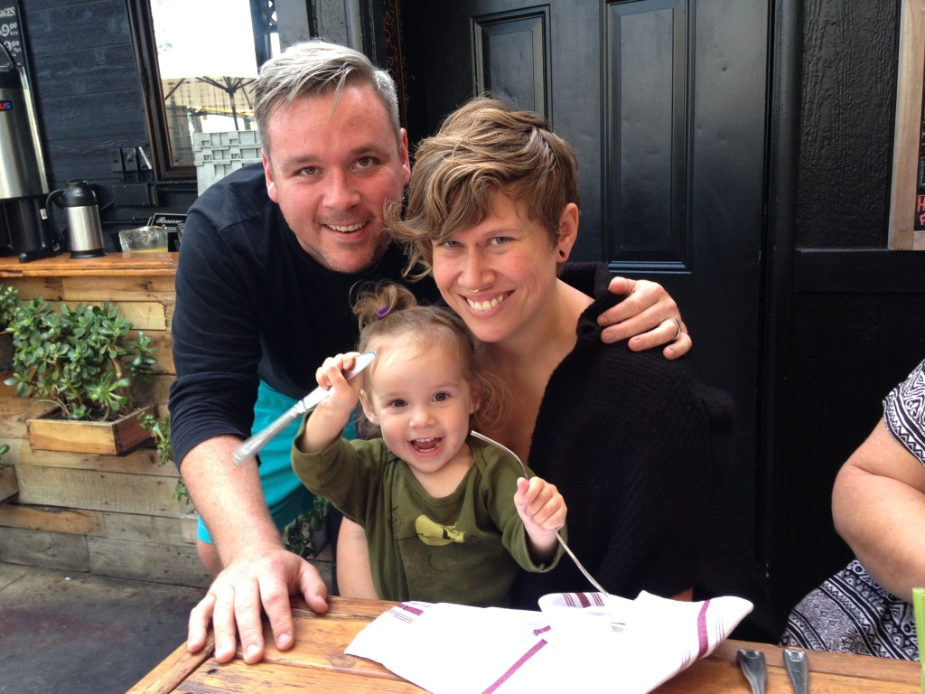 Yelp's Jenni Snyder and family on Maybrooks. #womenintech