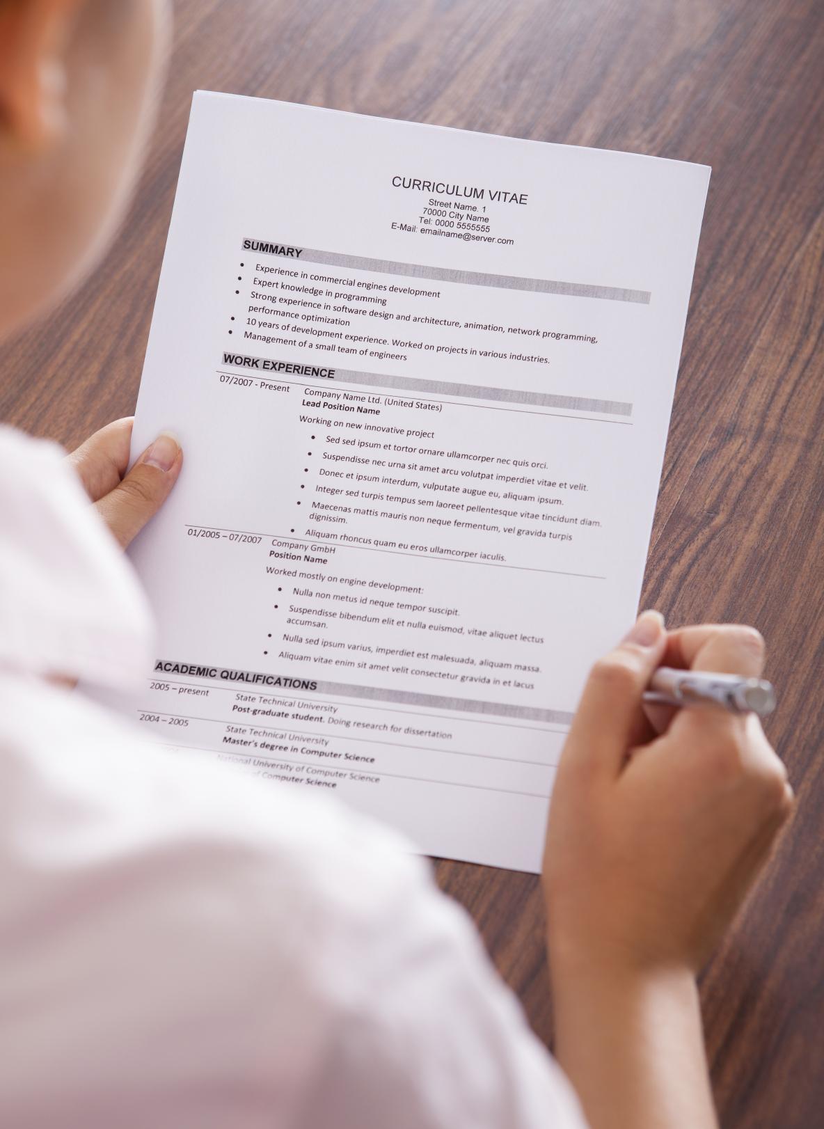 Resume Writing CV LinkedIn Profile Optimization For
