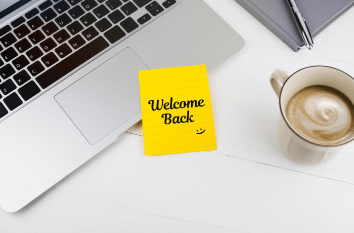 Strategies for mom going back to work that will have them saying welcome back.