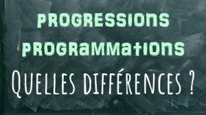 illustration titre article progression programmation