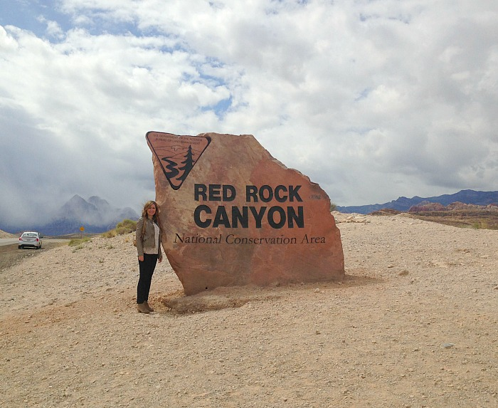 Red Rock Canyon entry
