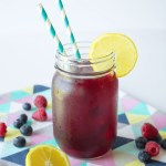 When it comes to refreshing and healthy drinks, nothing beats a blueberry lemonade. Blueberries are loaded with anti-oxidants and great for your skin. This blueberry lemonade recipe is sure to become a classic in your home!