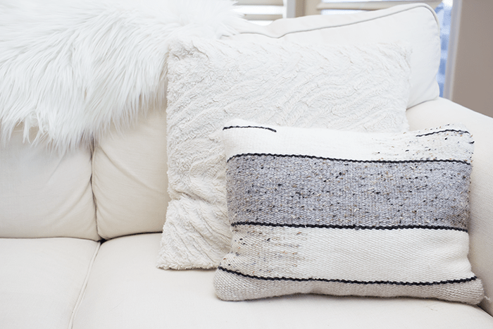 Freshen up your Spring decor with throw pillows.