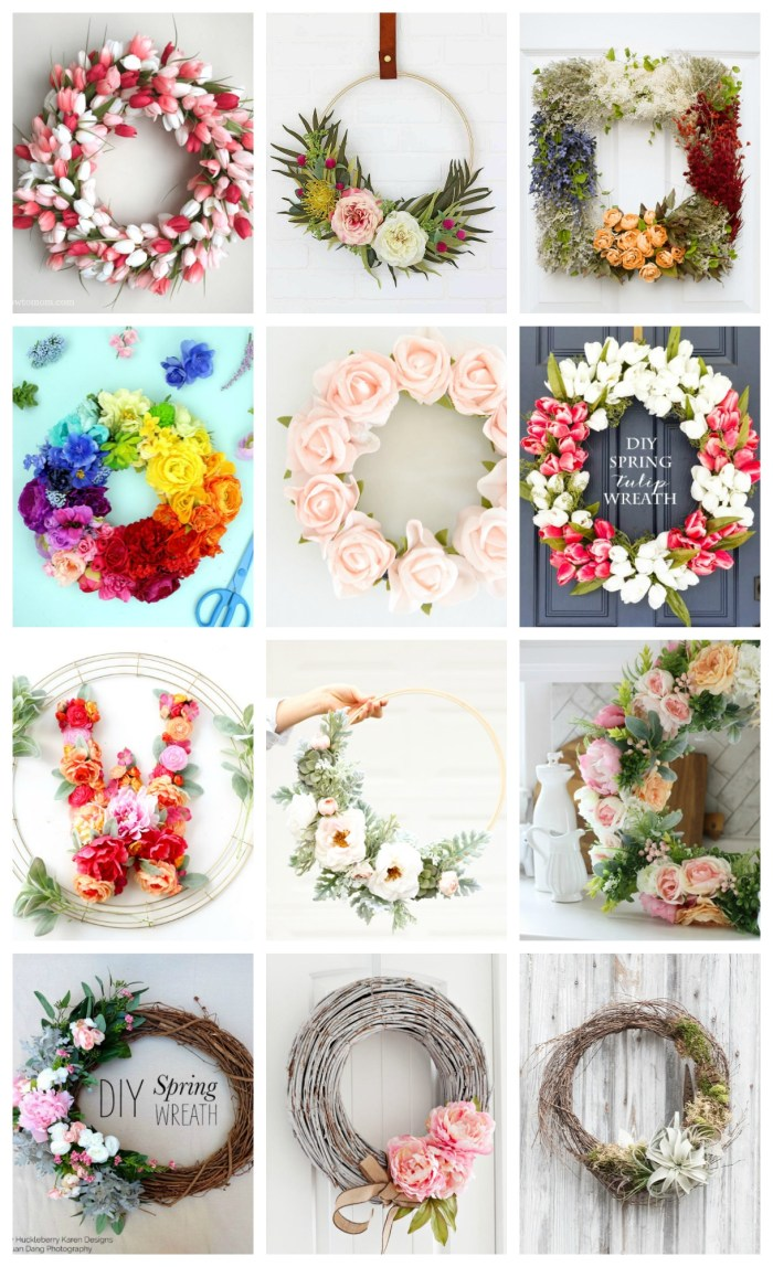You don't need any special skills to create these 20 Beautiful Spring Wreath DIY's. Get some fresh inspiration from this wide selection of tutorials from around the web.