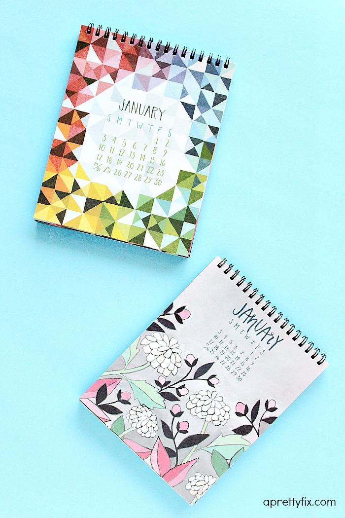 2016 Desk Calendars