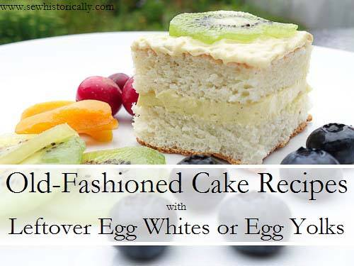 egg white and yolk recipes
