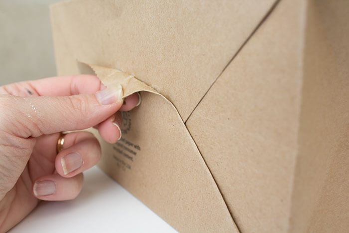 Four Simple Brown Paper Gift Wrap Ideas A Pretty Fix