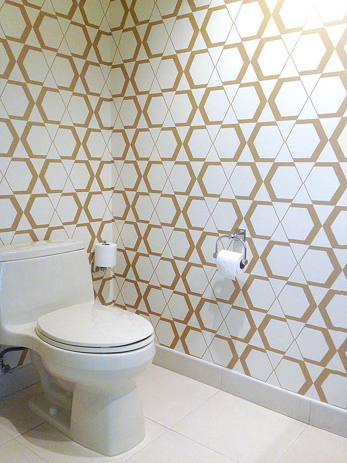 Las Vegas - geometric wallpaper design