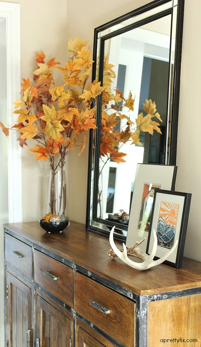 2015 fall home tour - foyer