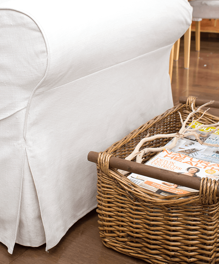 Decluttering your home starts with organizing small areas first.