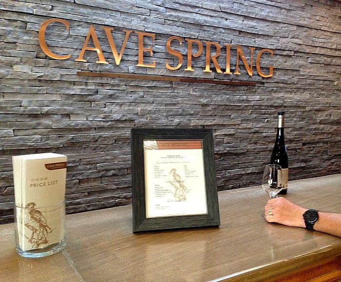 Tasting Room Cave Spring Cellars