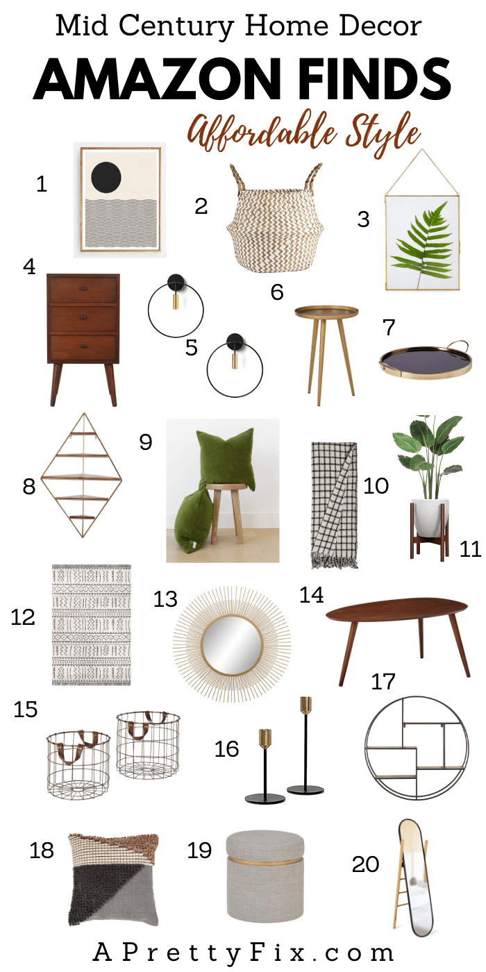 Sitting Room Plans My Fave Mid Century Decor Finds A Pretty Fix