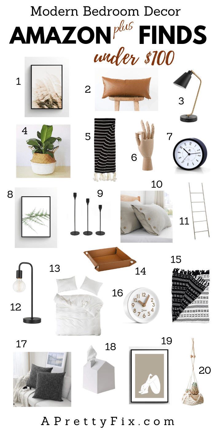 Mainly Amazon Bedroom Decor Finds Under 100 A Pretty Fix