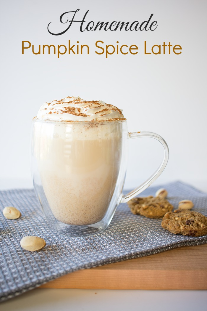 Quick, easy and delicious, this pumpkin spice latte is a great substitute for coffee shop varieties. Skip the lines and stay home with this yummy version!