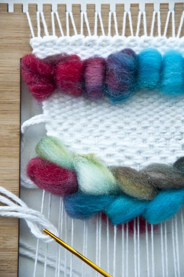 Kate, the Weaving Loom // Roving Weave
