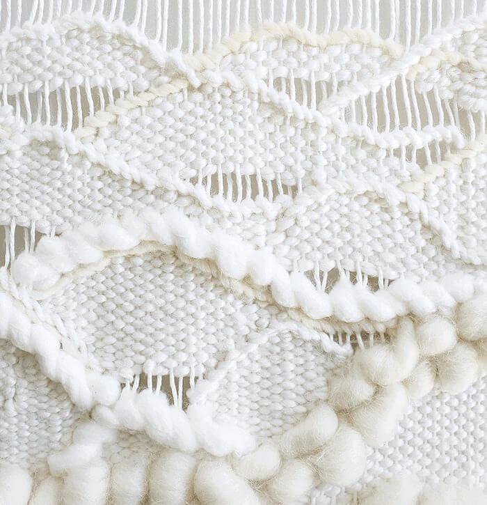 Learn how to create woven waves in this weaving tutorial | waves up close