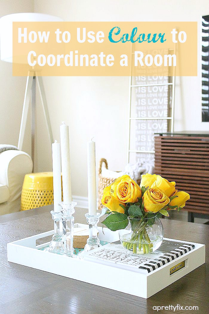 Use colour to coordinate any room in your home, instantly.