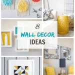 Get inspired by these crafty and stylish alternatives to traditional wall art. There's no better way to personalize a home than to get creative with your wall space!