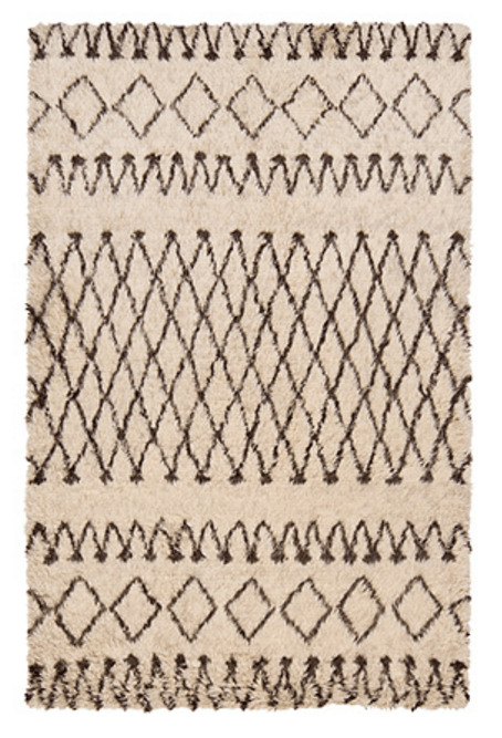 Dream Living Room - Isoba Wool Shag Rug / www.arhaus.com