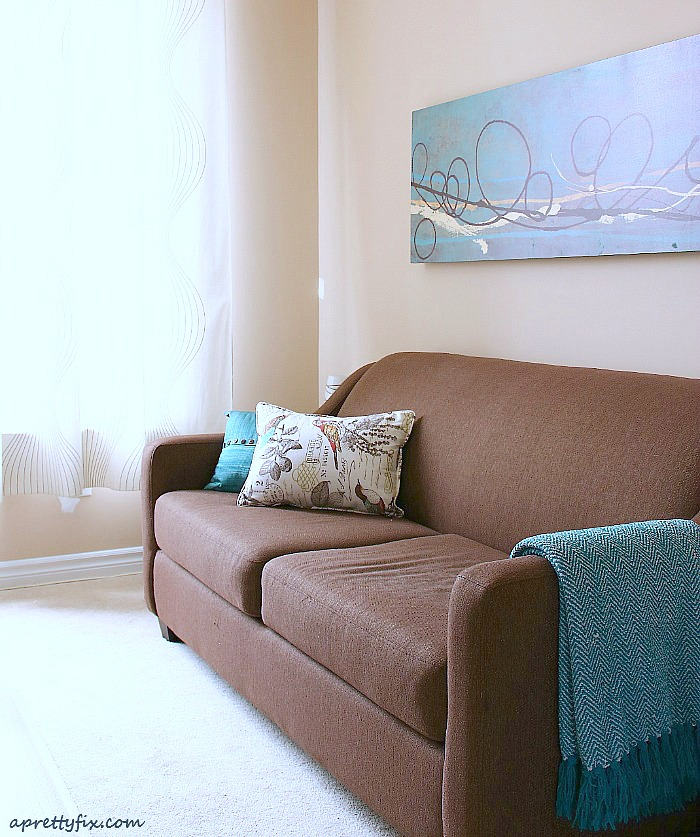 How to decorate with throw pillows and blankets to make your space look better instantly.