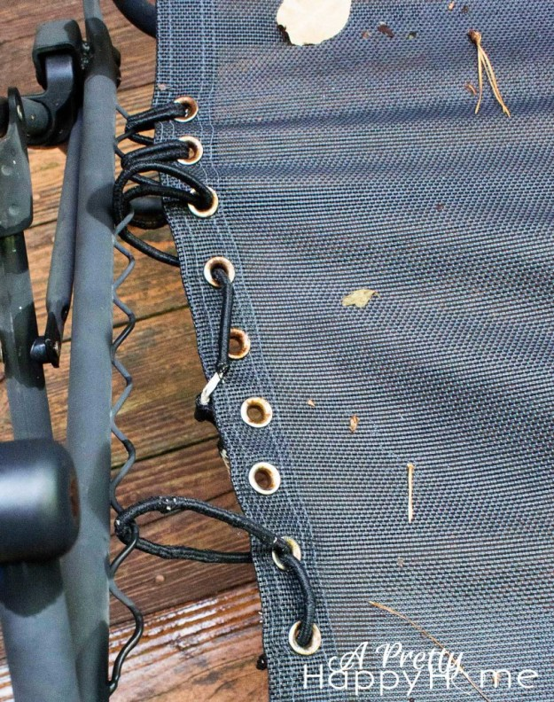 zero gravity chair repair closeup