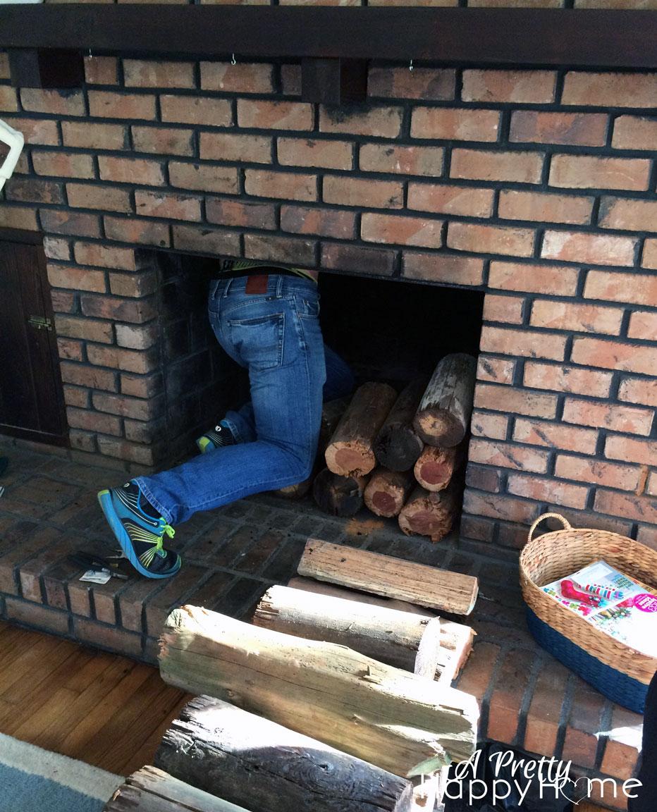 DIY Chimney Plug | A Pretty Happy Home