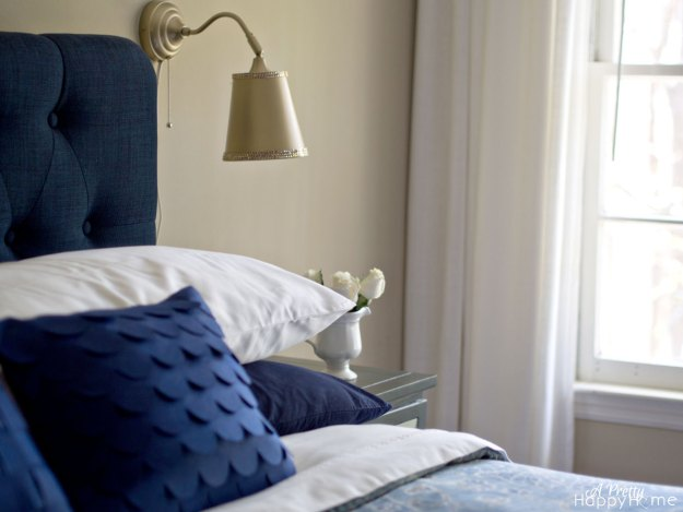 Wall Sconces Next To Bed : ikea lamp hack A Pretty Happy Home
