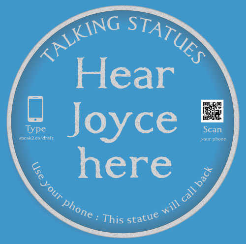 visiting ireland - hear joyce here
