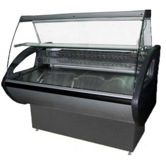 Холодильная витрина Rimini-2.0 для хранения и демонстрации продуктов питания. Темп.режим 0..+8 С. Охлаждаемый бокс. Купить apricot.kiev,ua ☎ (044) 239-10-63
