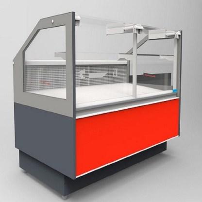 Холодильная витрина кубическая GRACIA D FG 1.25 (Грация) для хранения суточной нормы продуктов. Фронтальное стекло не открывается.